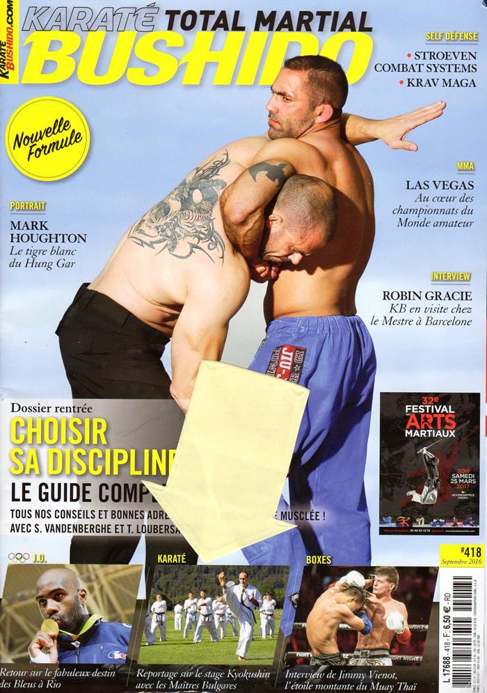 Le stage national France Kyokushin dans le magazine Karate Bushido