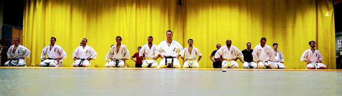 kyokushin karaté Club Corenc - photo du club