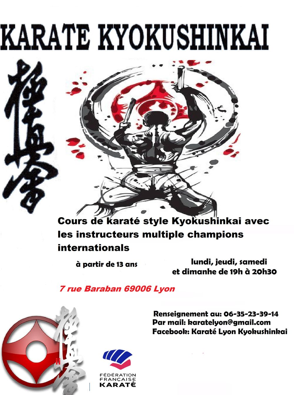 Karate Lyon Kyokushinkai - photo du club