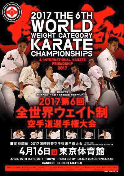 6e World Weight Championships karaté Kyokushinkai