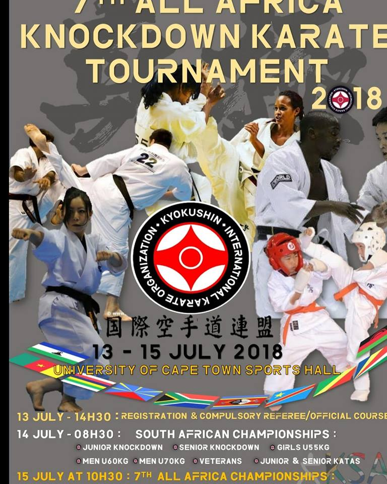 7e All Africa Tournament - Championnat de karaté Kyokushinkai
