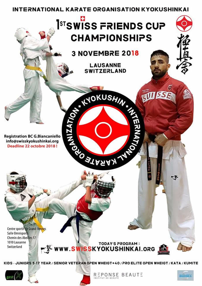 1st Swiss Friend's Cup Championship - karate Kyokushinkai