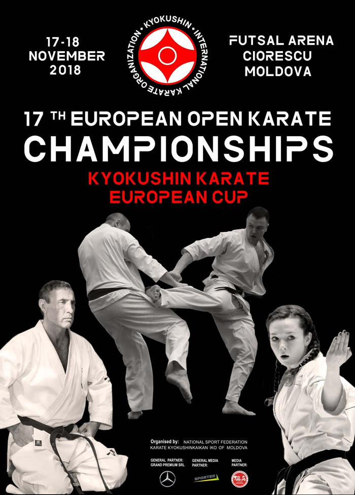 17th European Open Championships - karaté Kyokushinkai