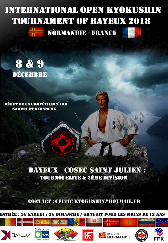Open de Bayeux 2018 - karate Kyokushinkai