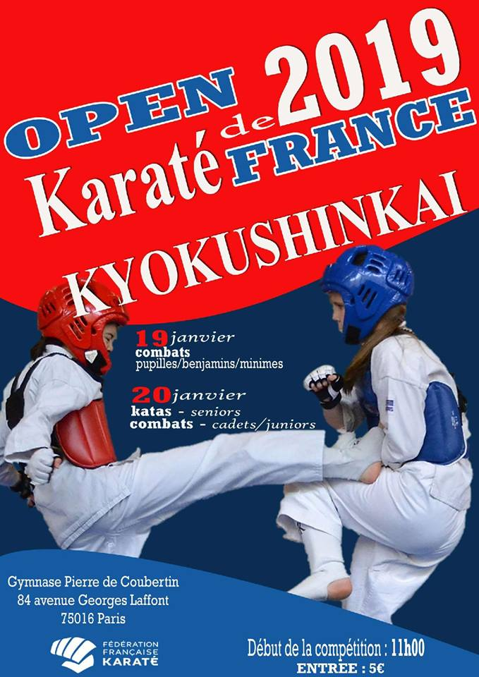 Open de France Kyokushinkai 2019