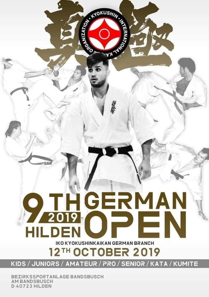 9 eme German Open, karaté Kyokushinkai