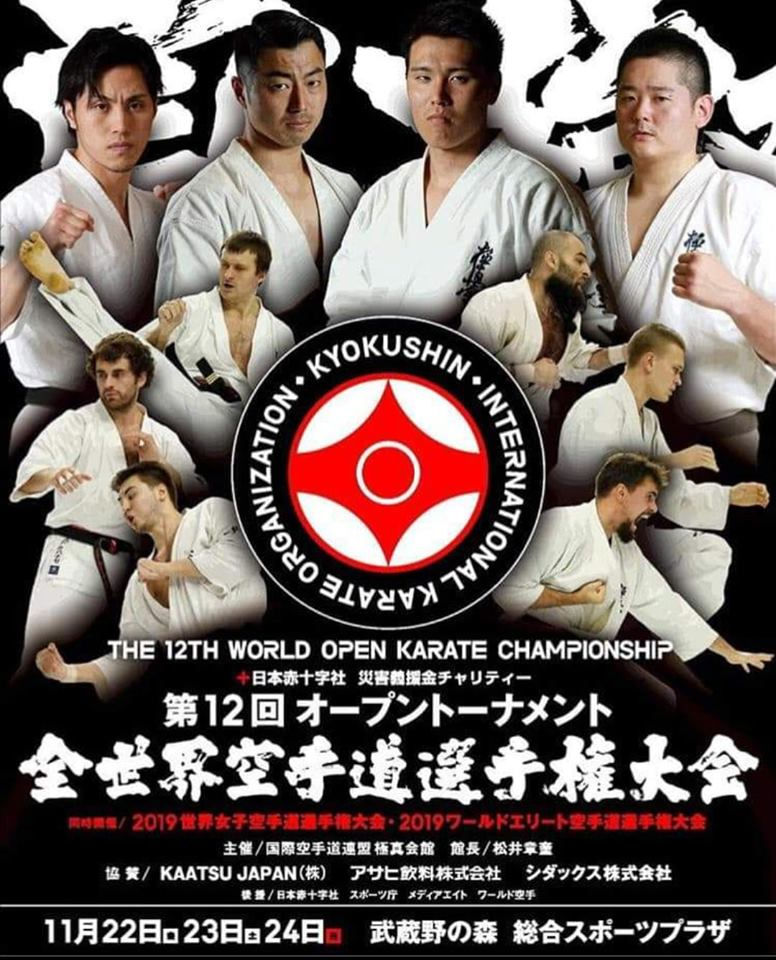 12 World Open karate Championship, Kyokushinkai IKO