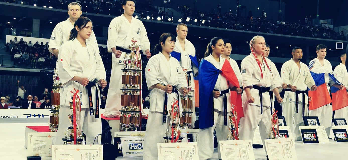 Résultats du 12e World Open karate Championship