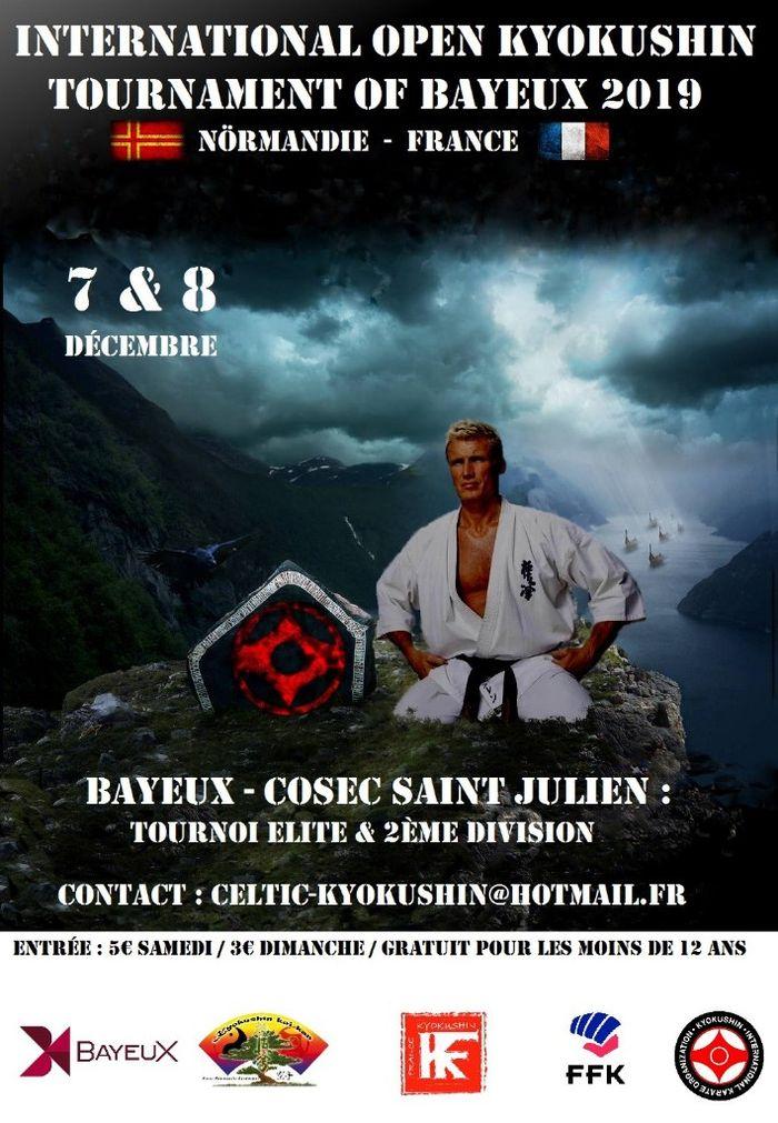 Open de Bayeux 2019 - karaté Kyokushinkai