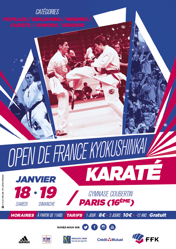 Open de France karaté Kyokushinkai