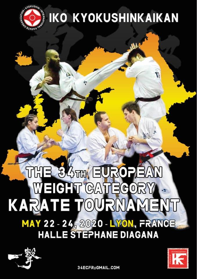 34e weight championship, karate Kyokushinkai - Lyon, France