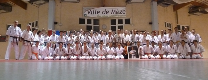Photo de groupe du stage Grand Sud 2011