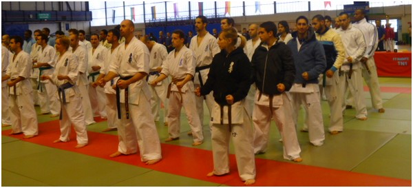 Coupe de France Kyokushinkai 2012 à Paris